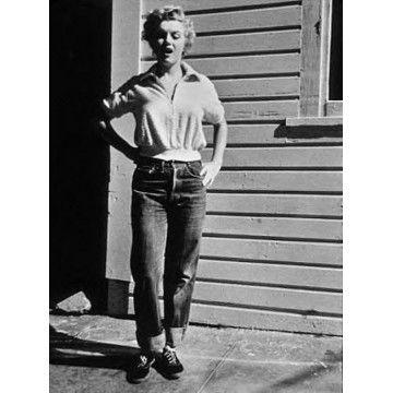 Jean 701 rigid femme de 1950 LEvi's Vintage