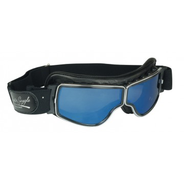 Masque chrome anti-buée Aviator Goggle