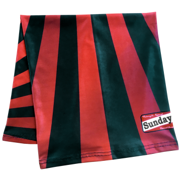 Scarf Sunday Speedshop japan blk/red
