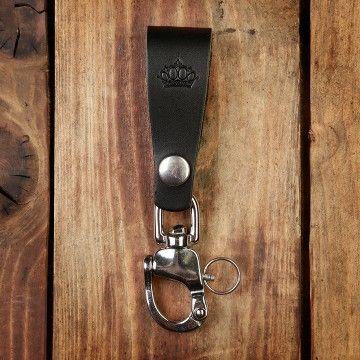 Porte clé noir Pike Brothers