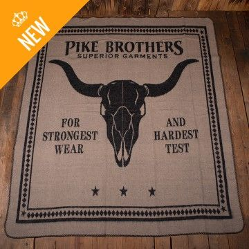 Couverture longhorn Pike Brothers