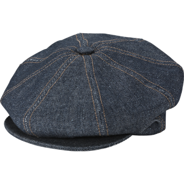 Casquettes Newsboy denim