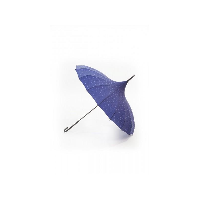 Parapluie Retro blue anchor