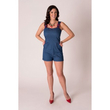 combi short denim Tatyana