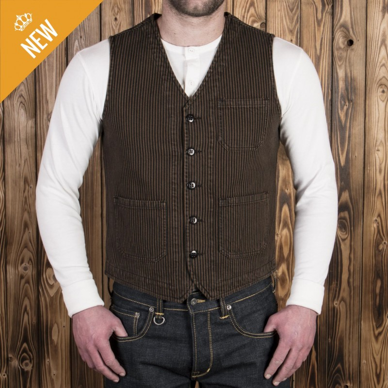 Roamer veste hickory brown 1937 Pike Brothers