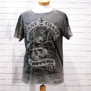 tee shirt Cash only West Coast Choppers