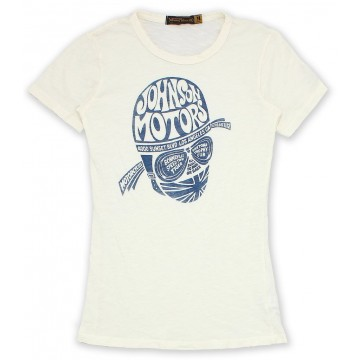 tee shirt women cycle head Johnson Motors