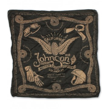 Bandana black Johnson Motors