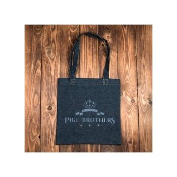 sac logo denim Pike Brothers