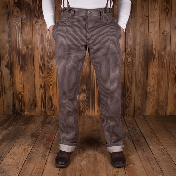 Pantalon hunting pant 1942 brown wabash Pike Brothers