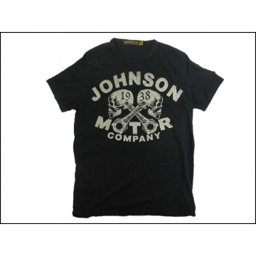 Tee shirt 1938 skulls Johnson Motors