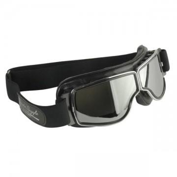 masque chrome verres fumés Aviator Goggle