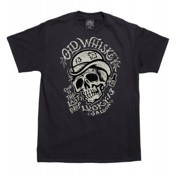Tee shirt Old Whiskey Lucky 13