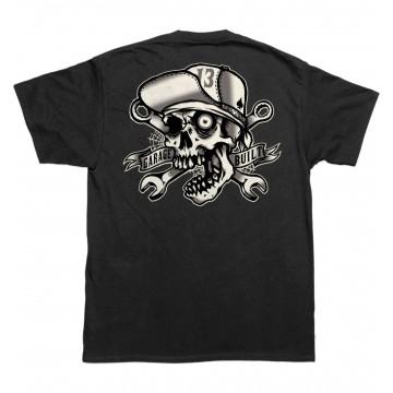 Tee shirt Skull Bro Lucky 13