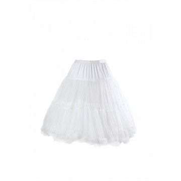 jupon crinoline blanc