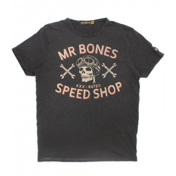 Tee shirt Mr Bones XXX Johnson Motors