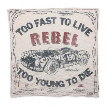 Bandana Rebel white Johnson Motors