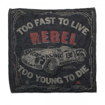 Bandana rebel black Johnson Motors
