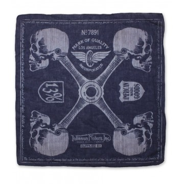 Bandana Four points navy Johnson Motors