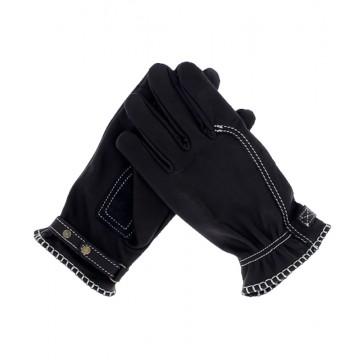 Gants moto noirs homologués Kytone