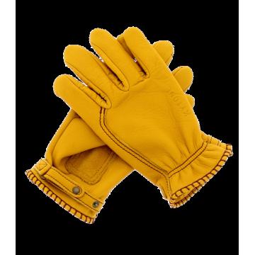 Gants moto jaune homologués Kytone