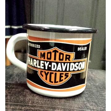 Mug Harley Davidson métal émaillé