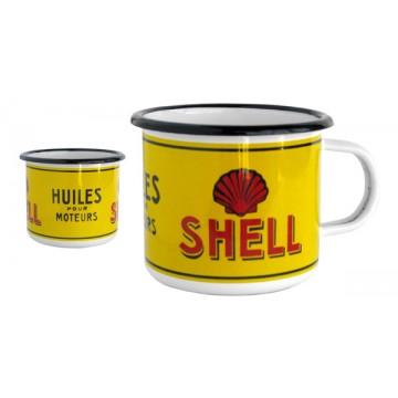 Mug Shell métal émaillé