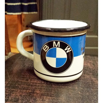 Mug BMW metal emaillé
