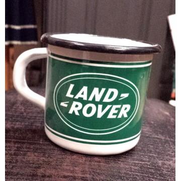 Mug Land Rover métal émaillé