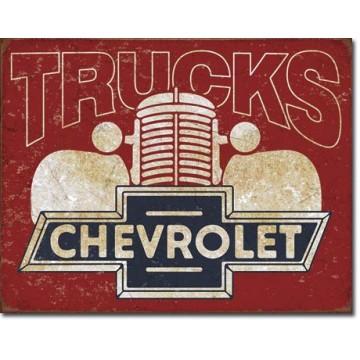 Plaque métal chevy truck 40s