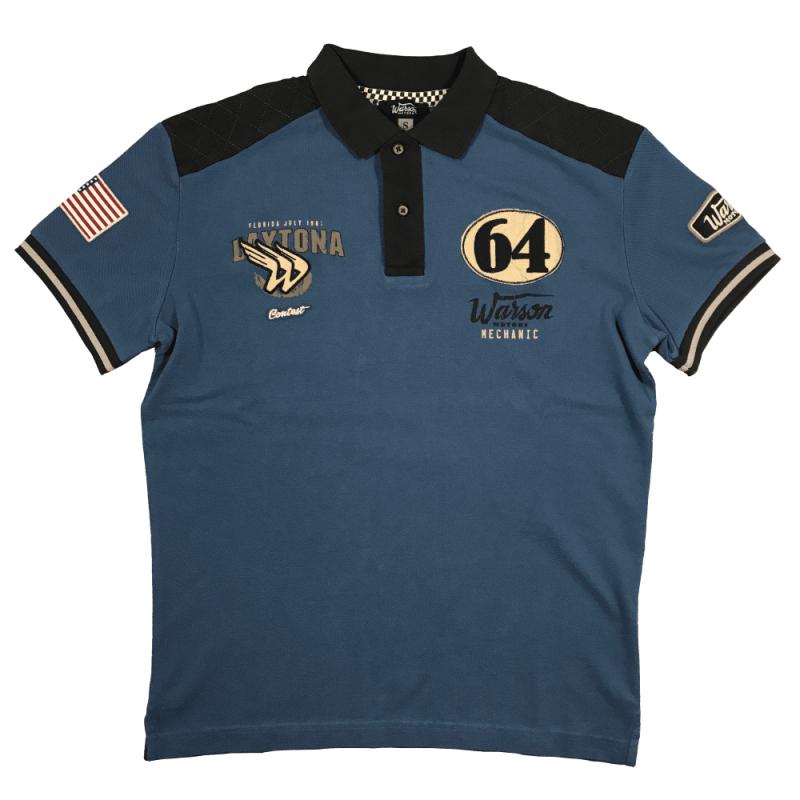 Polo Daytona 64 blue Warson Motors