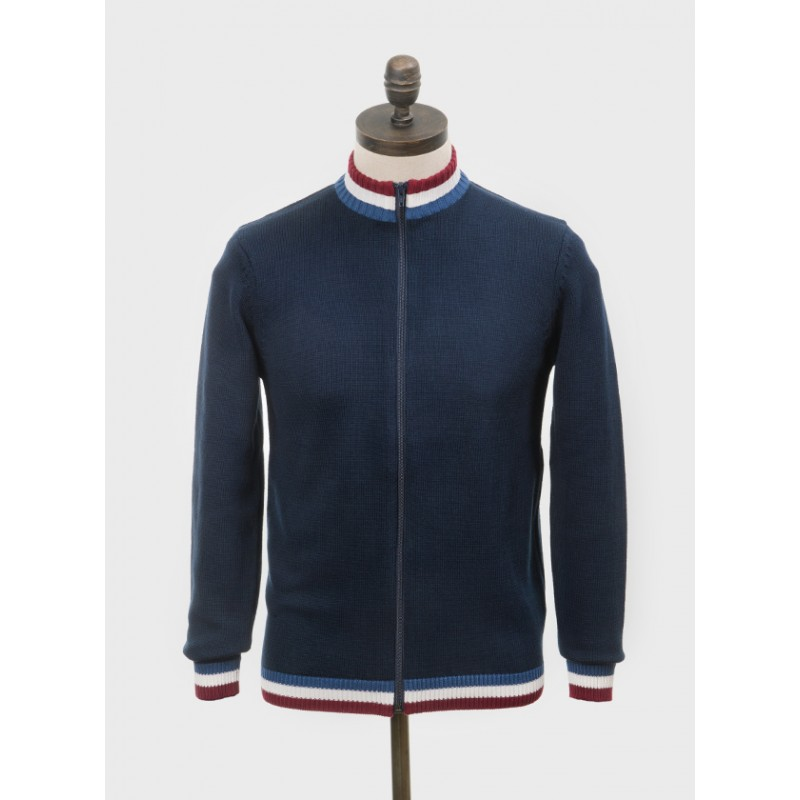 Polo tricot cycliste retro Clarke