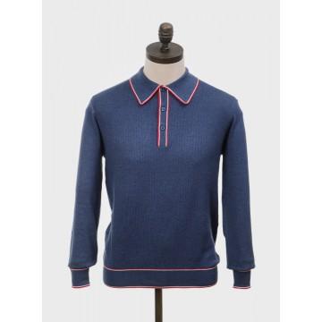 Polo tricot retro Isley