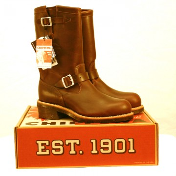 bottes tan renegade chippewa