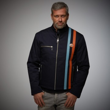 Blouson replica navy Grandprix Originals