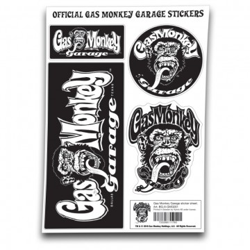 stickers Gas Monkey Garage