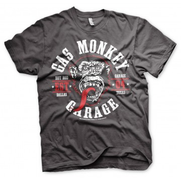 Tee-shirt Gas Monkey Round seal