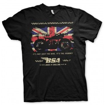 Tee-shirt BSA Motorcycles The Journey