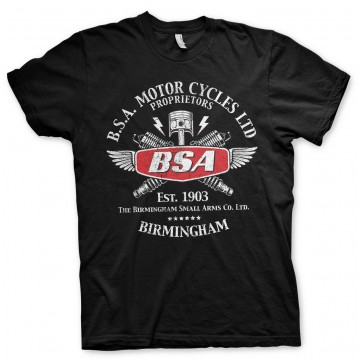 Tee-shirt BSA motorcycles Sparks