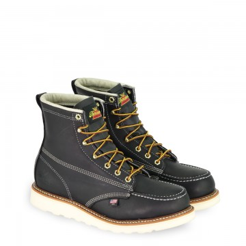 Chaussures Moc-Toe noires Thorogood