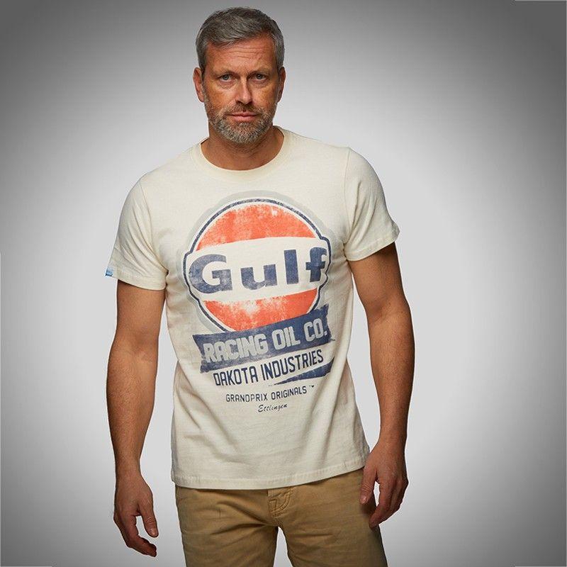 tee shirt gulf oil racing custom legend. Black Bedroom Furniture Sets. Home Design Ideas