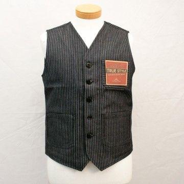 gilet Roamer 1937 wabash bleu Pike Brothers