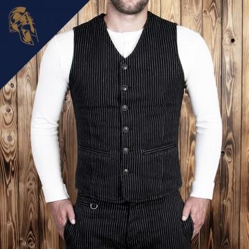 Gilet Hauler 1905 black wabash Pike Brothers