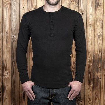 Utility shirt manches longues Pike 1954 noir