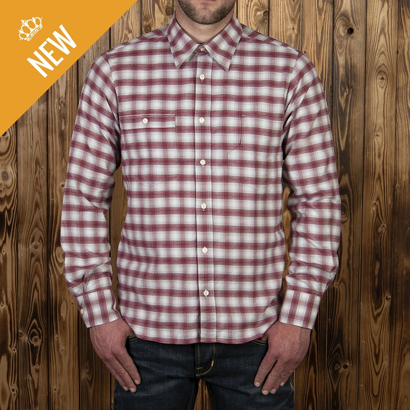 Chemise 1937 Pioneer red Pike Brothers