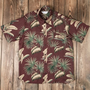 Chemise Hawaiienne Maohu red Pike Brothers