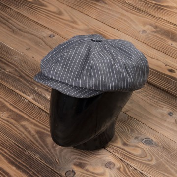 Casquette Newsboy gris wabash Pike Brothers