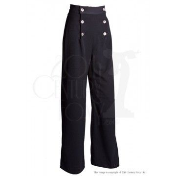 Pantalon de pont sailor black