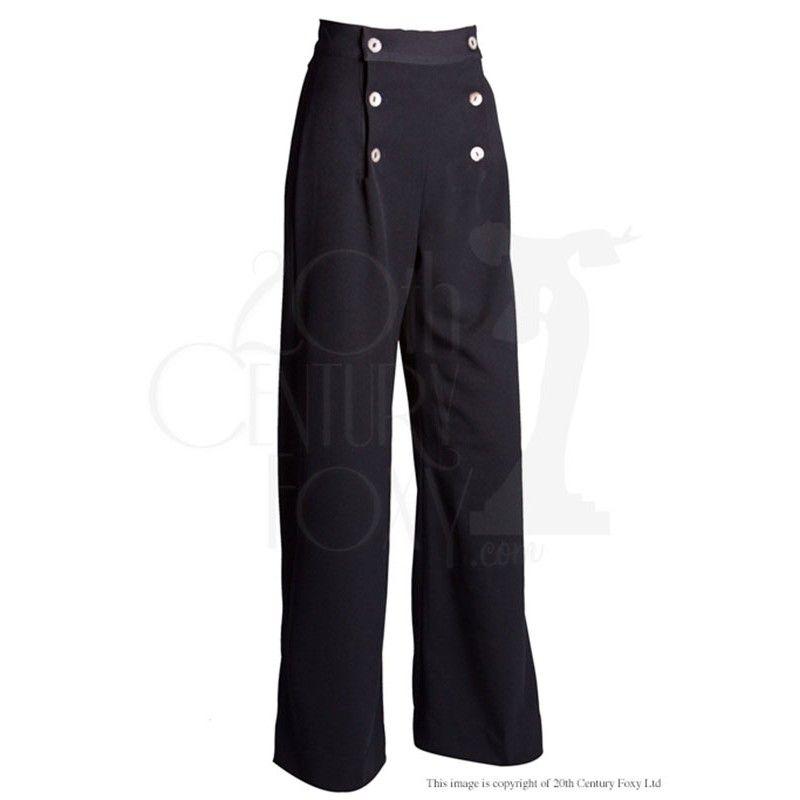 Pantalon de pont sailor black
