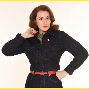 Veste jean Norma Freddies of Pinewood